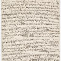 Cooper's manuscript,&nbsp;<em>The Red Rover</em>