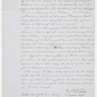 Cooper's agreement with Putnam,&nbsp;<em>Rural Hours</em>