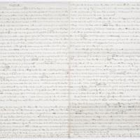 Fragment of Cooper's manuscript,&nbsp;<em>The Monikins</em>