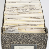James Beard's files of nineteenth-century reviews of Cooper's works