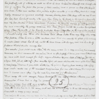 Cooper's manuscript, <em>The Chainbearer</em>