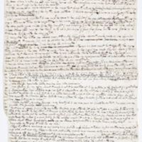Fragment of Cooper's manuscript,&nbsp;<em>The Water-Witch</em>