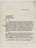 Letter to James Baldwin