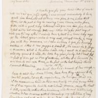 15 December 1788 to 18 December 1788