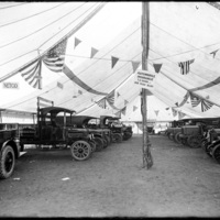 Auto tent at the New England Fair