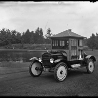 W.H. Sawyer Lumber car