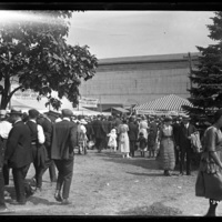 Crowd at the New England Fair
