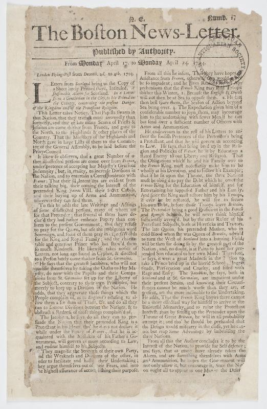 The Boston News-Letter