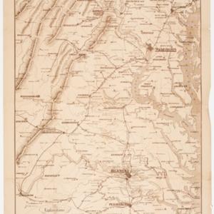 War Telegram Marking Map