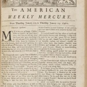 The American Weekly Mercury