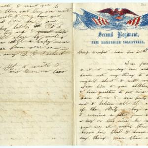 Letters of Daniel E. Burbank