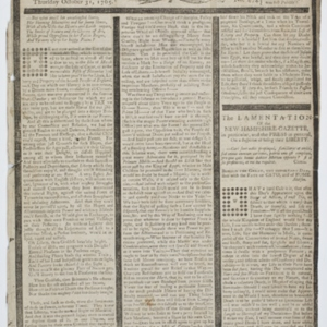 The New-Hampshire Gazette, and Historical Chronicle