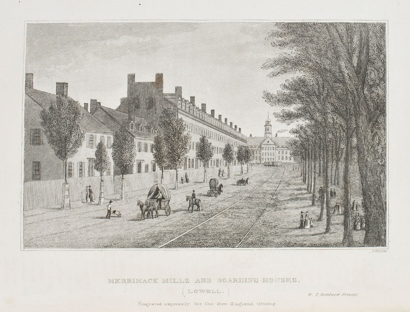 Merrimack Mills and Boarding-Houses