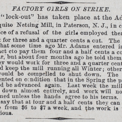 Factory Girls on Strike
