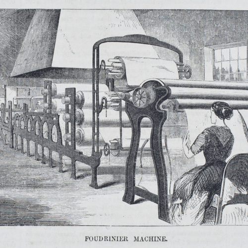 Fourdrinier Machine