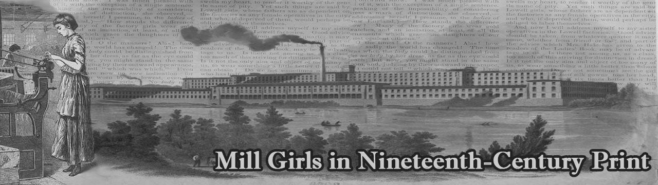 Mill Girls in Nineteenth-Century Print