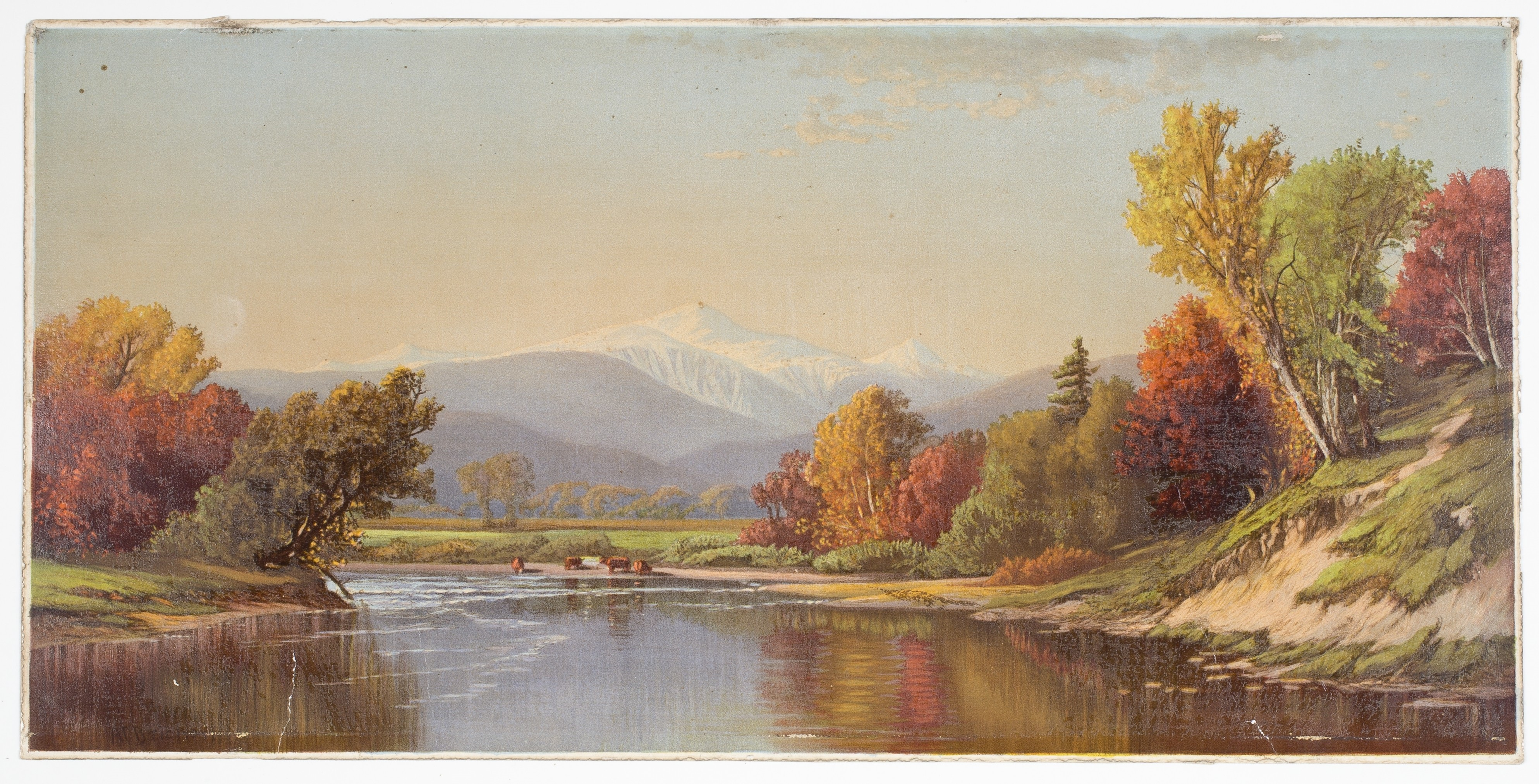 late autumn in the white mountains louis prang