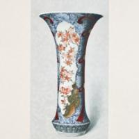 XCV. Imari beaker decorated in colors