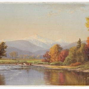 Late autumn in the White Mountains.