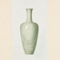 Plate VII. K'ang-hsi celadon vase.