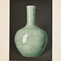 Plate XXXVIII. Etched celadon vase