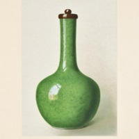 Plate LXXVIII. Cucumber-green crackled vase