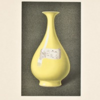 Plate LXV. Decorated citron-yellow vase