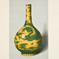 Plate XXXI. Green and yellow vase