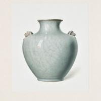 Plate LXXXVI. Crackled gray vase.