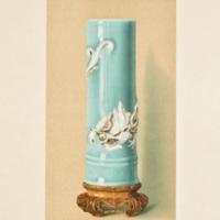 Plate XV. Celadon brush cylinder