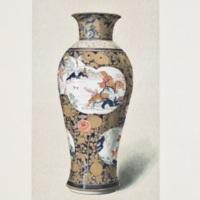"XCVIII. ""Old Japan"" Imari vase"