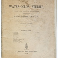 Water-color studies, for the use of art-schools and art-students.