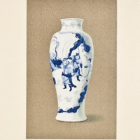 Plate LXXIII. K'ang-Hsi blue and white vase