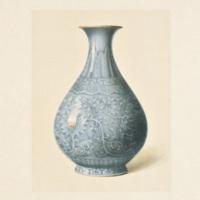 Plate LXXIV. Pale-blue vase