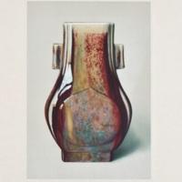 Plate XLVI. Brilliant flambé vase
