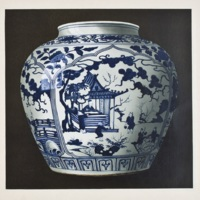 Plate XLIX. Chia-Ching blue and white jar