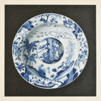 Plate VIII. K'ang-hsi blue and white dish.