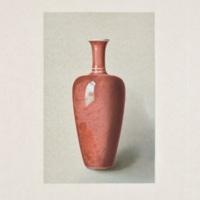 Plate LIV. Peach-bloom vase