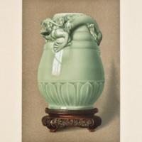 Plate XL. Pea-green celadon vase