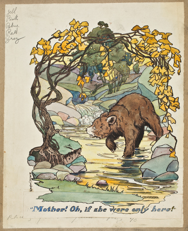 """""""Mother! Oh, if She Were Only Here,"""" from The Story of Teddy the Bear"""