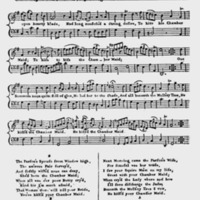 """Sheet Music for """"The Chambermaid"""""""