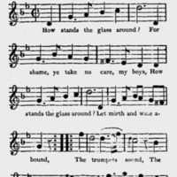 """Sheet Music for """"How Stands the Glass Around?"""""""