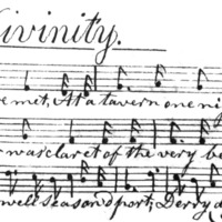 "Sheet Music for ""Law, Physic, And Divinity"" Part 2"