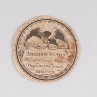 Adams & Eaton watch & clock maker opposite Old South Boston.