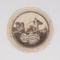 E.J. Austin clock & watch maker Vergennes, (Vt.)