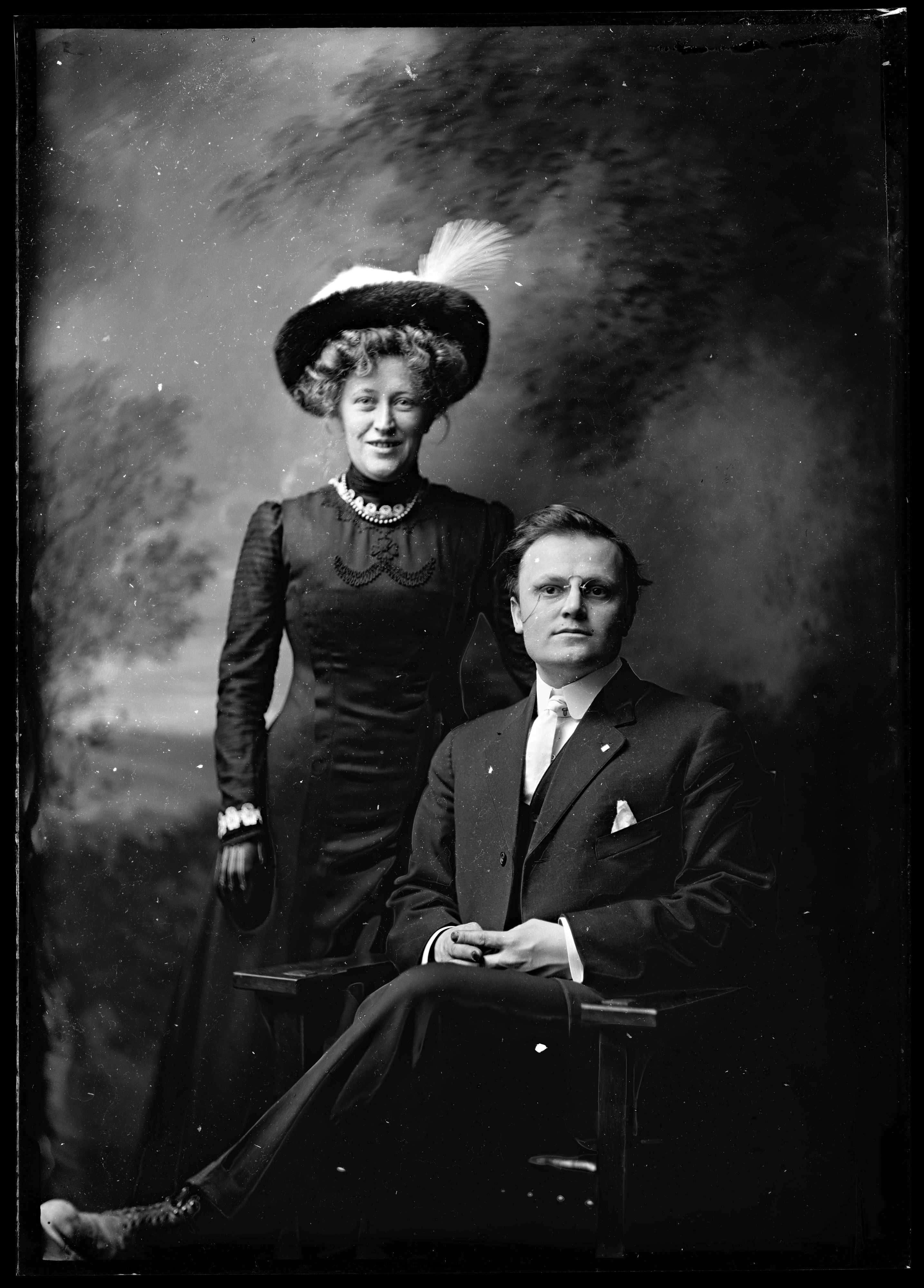 Theodore and Mabel Wohlbruck