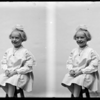 Portraits of a young girl