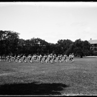 Marching band at Fort Monroe