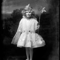 Virginia Wohlbrück in costume